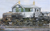 Painting - '9F' class locomotive