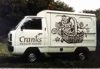 Van painting (Lettering by Tom Perkins)