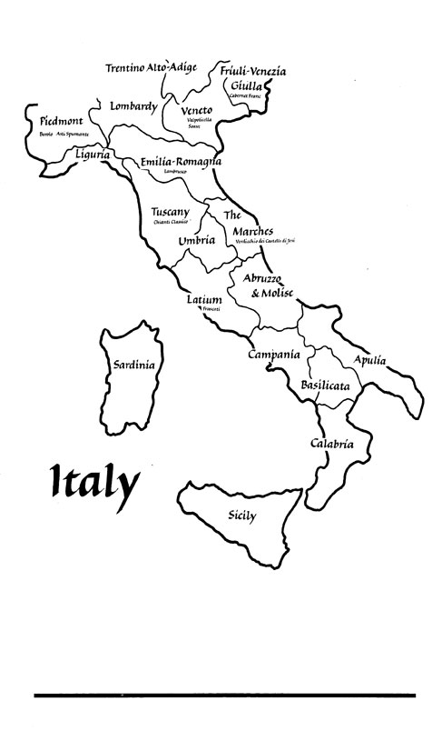 Mapofitaly Colouring Pages